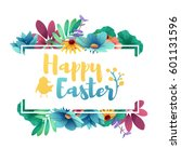 banner design template with... | Shutterstock .eps vector #601131596