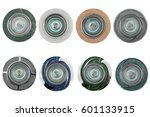 collection of different kind of ...   Shutterstock . vector #601133915