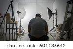 photo studio with lighting... | Shutterstock . vector #601136642