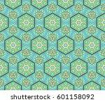 color geometric pattern in... | Shutterstock .eps vector #601158092