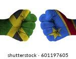 jamaica vs congo democratic...   Shutterstock . vector #601197605