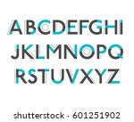 vector of stylized colorful... | Shutterstock .eps vector #601251902