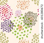 vector abstract seamless... | Shutterstock .eps vector #601280672