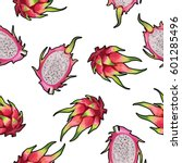 vector seamless pattern with... | Shutterstock .eps vector #601285496