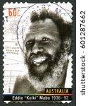 australia   circa 2013  a used...   Shutterstock . vector #601287662