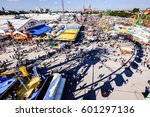 famous oktoberfest in munich - germany - stock photo