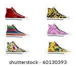 sneakers | Shutterstock .eps vector #60130393