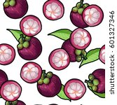 vector seamless pattern with... | Shutterstock .eps vector #601327346