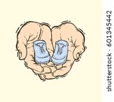 hand drawn vector illustration... | Shutterstock .eps vector #601345442