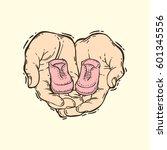 hand drawn vector illustration... | Shutterstock .eps vector #601345556