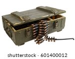 Soviet Army Box Of Ammunition...