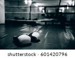 boxing gloves in the ring | Shutterstock . vector #601420796