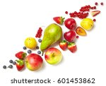 diagonal composition of various ... | Shutterstock . vector #601453862