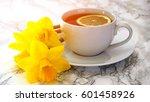 Composition Of Lemon Tea With...
