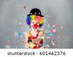 Let's Party   Funny Kid Clown...