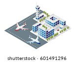 isometric high quality city...   Shutterstock .eps vector #601491296