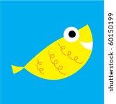 cute fish | Shutterstock .eps vector #60150199