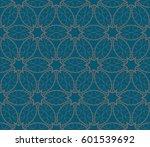 modern geometric seamless... | Shutterstock .eps vector #601539692