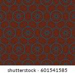 ornamental seamless pattern.... | Shutterstock .eps vector #601541585