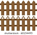 Two  Wooden Fences