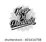 black words sentence typography ... | Shutterstock .eps vector #601616708