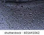 many little water drops due to... | Shutterstock . vector #601641062