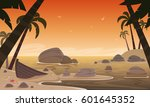 cartoon illustration of the... | Shutterstock .eps vector #601645352