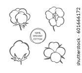 vector set of hand drawn ink... | Shutterstock .eps vector #601666172