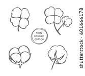 vector set of hand drawn ink... | Shutterstock .eps vector #601666178