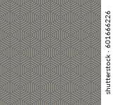 geometric repeating vector... | Shutterstock .eps vector #601666226