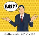 adult business man throwing... | Shutterstock .eps vector #601717196