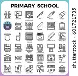 primary school concept detailed ...