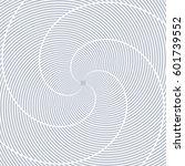 lines rotation pattern.... | Shutterstock .eps vector #601739552
