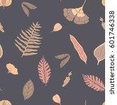 trendy spring design. hand... | Shutterstock .eps vector #601746338
