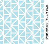 geometric grid triangle minimal ... | Shutterstock .eps vector #601751036