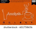 pen write graphic line text...   Shutterstock .eps vector #601758656