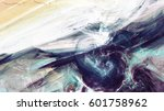 fantasy clouds. abstract... | Shutterstock . vector #601758962