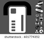 atm machine icon with bonus... | Shutterstock .eps vector #601774352