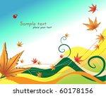 autumn vector background | Shutterstock .eps vector #60178156