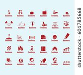 business icons set isolated on...