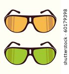 vector sunglasses | Shutterstock .eps vector #60179398