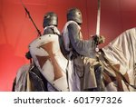 Knights Templar With Armor On...