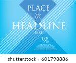 presentation slide layout... | Shutterstock .eps vector #601798886