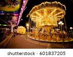 Children\'s Carousel At An...