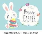 Vector Cartoon Style Easter...