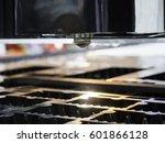 high precision cnc laser... | Shutterstock . vector #601866128