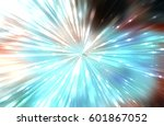 abstract colorful gloss... | Shutterstock . vector #601867052