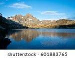 Banner Peak And Garnet Lake In...