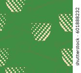 seamless pattern  halftone ... | Shutterstock .eps vector #601888232