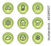 ecology web icons set 2  green...